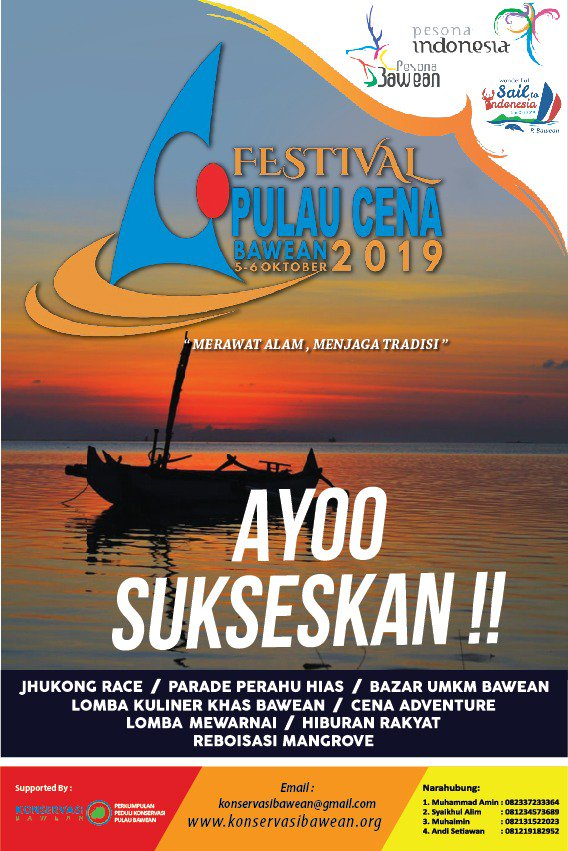 festival pulau cena bawean